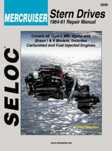 Seloc Mercruiser Stern Drive 1964-1991 Repair Manual