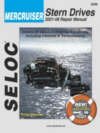 Seloc Mercruiser Stern Drive Inboard 2001-2013 Repair Manual