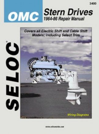 Seloc OMC Stern Drive 1964-1986 Repair Manual