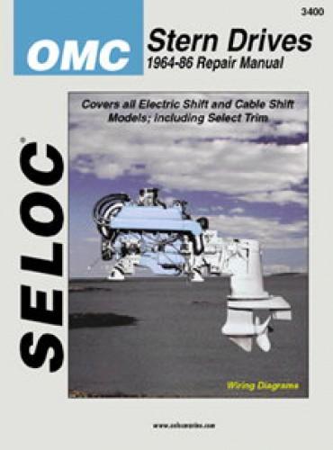 seloc omc stern drive boat engine repair manual 1964 1986 rh repairmanual com omc sterndrive repair manual omc 400 repair manual