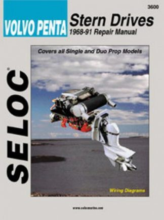 Seloc Volvo Penta Stern Drive 1968-1991 Repair Manual