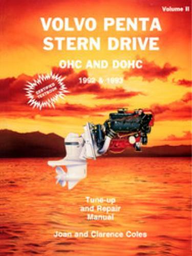 Seloc 1992-1993 Volvo Penta Stern Drive ll OHC DOHC Repair Manual