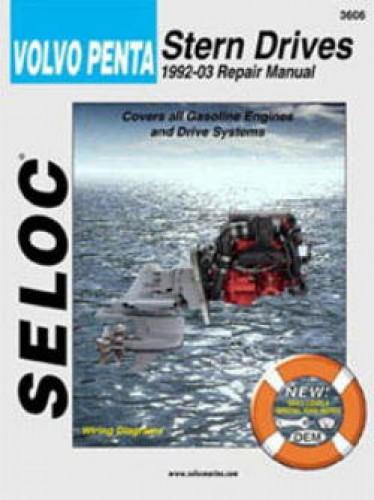Seloc Volvo Penta Stern Drive 1992-2002 Repair Manual
