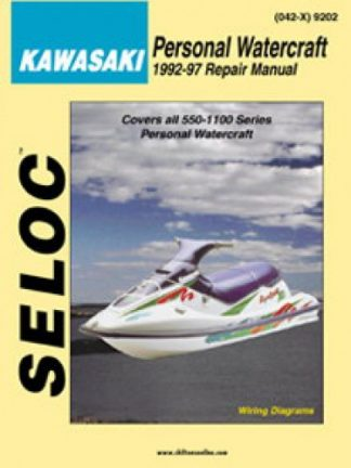 Seloc Kawasaki Personal Watercraft 1992-1998 Repair Manual Vol lA