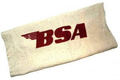 Red BSA Cotton Shop Rag