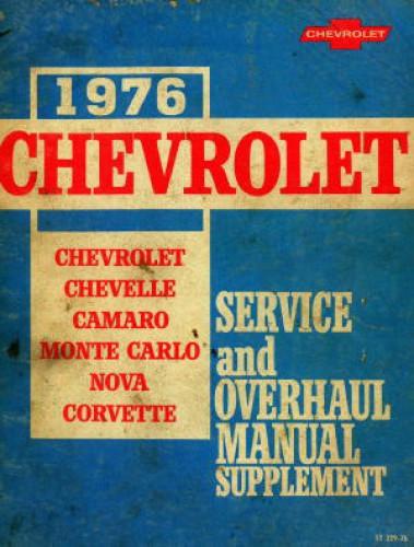 HAYNES Chevrolet Nova 1969-1979 All V-8 Models Automotive Repair Manual Chevy
