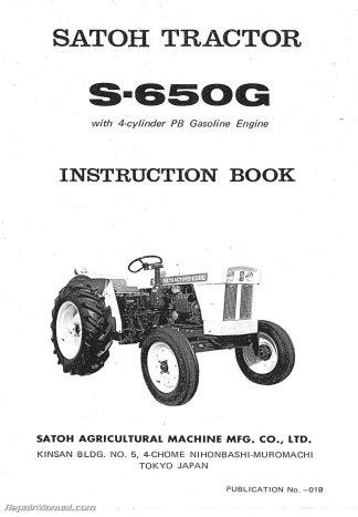 satoh s650g operators manual rh repairmanual com 4 Stroke Engine Diagram Inline 4 Cylinder Engine