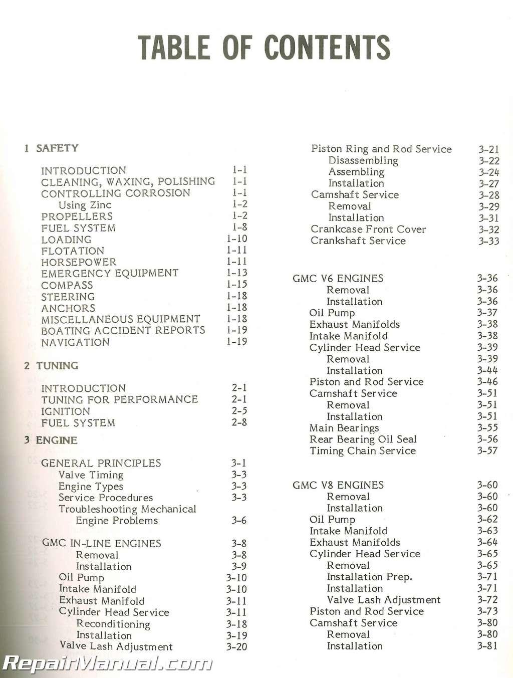Seloc Omc Stern Drive Boat Engine Repair Manual 1964 1986 1978 Wiring Diagram