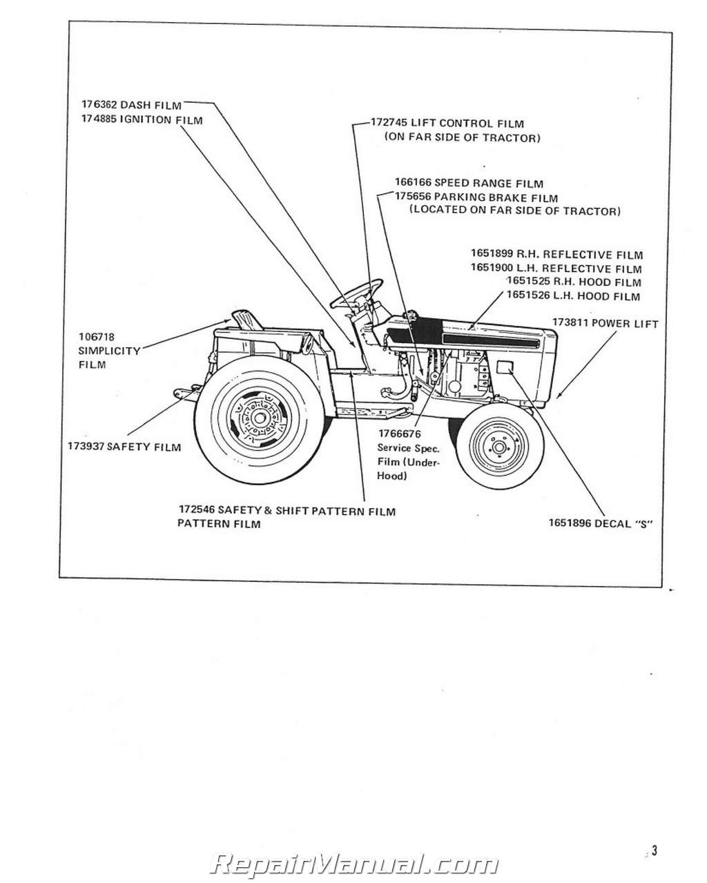 Power Max Wiring Diagram Page 4 And Schematics Simplicity Schematic 2 Heating Spare Source 9020 Allis Chalmers 720 Lawn Garden Rh Repairmanual Com Basic Mower