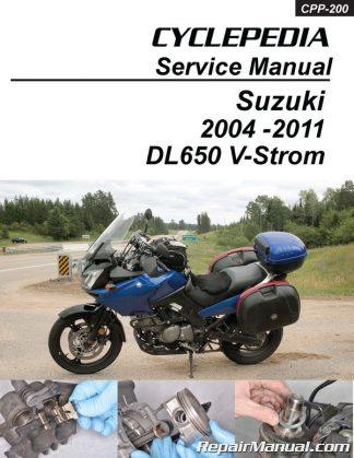 Suzuki Dl650 V Strom Cyclepedia Motorcycle Service Manual