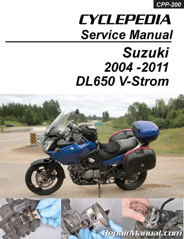 suzuki dl650 v strom cyclepedia motorcycle service manual rh repairmanual com Suzuki DL650 Accessories Suzuki DL650 V-Strom Review