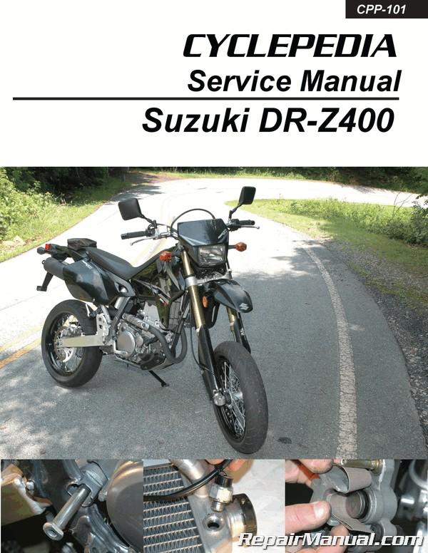 suzuki dr z400 kawasaki klx400 cyclepedia service manual rh repairmanual com