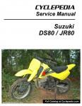 Suzuki DS80 JR80 Motorcycle Cyclepedia Printed Service Manual_Page_1