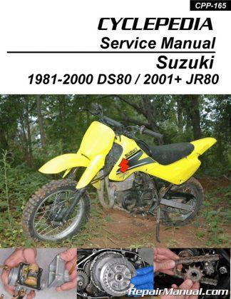 Suzuki DS80 JR80 Motorcycle Cyclepedia Printed Service Manual on