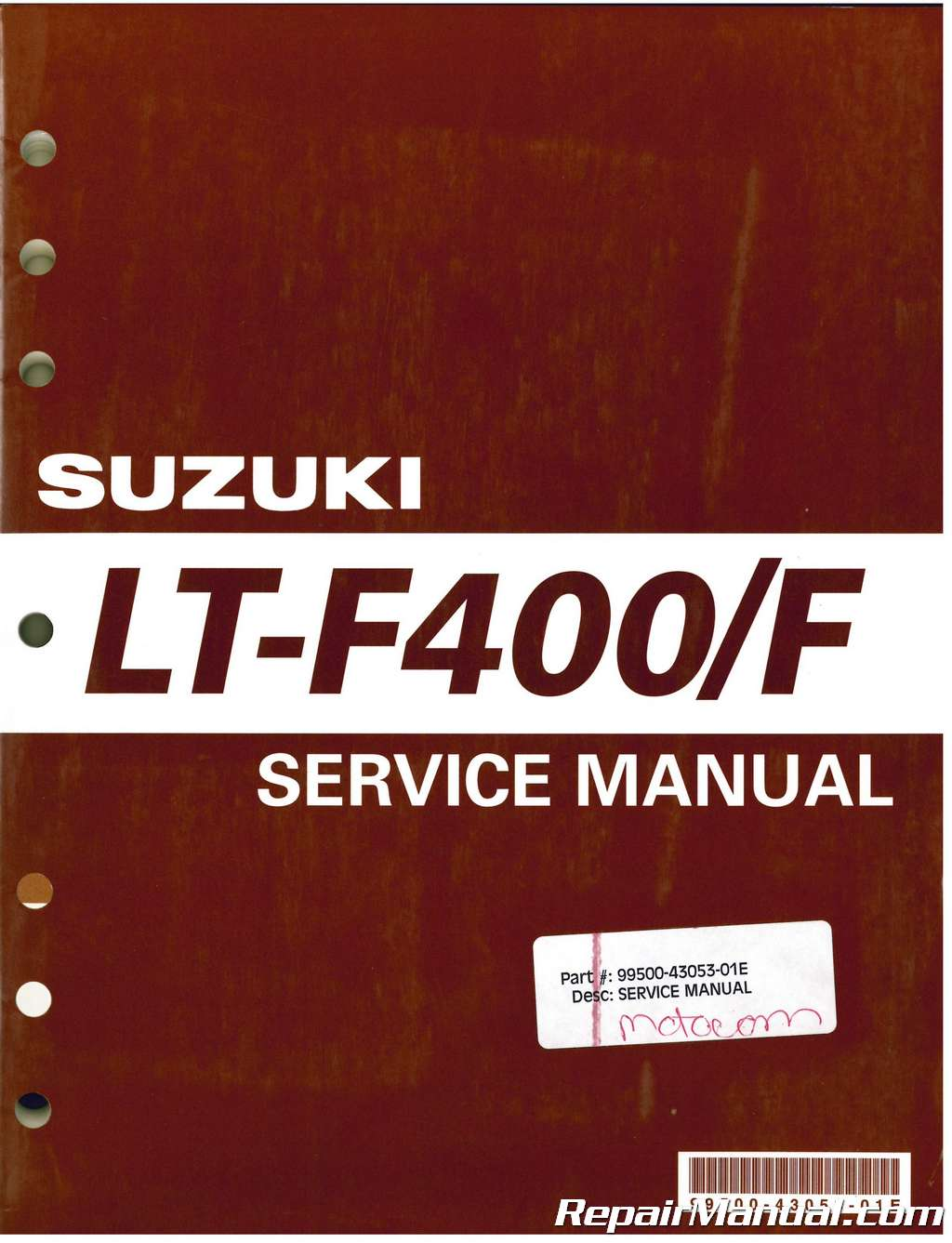 2006 suzuki eiger repair manual