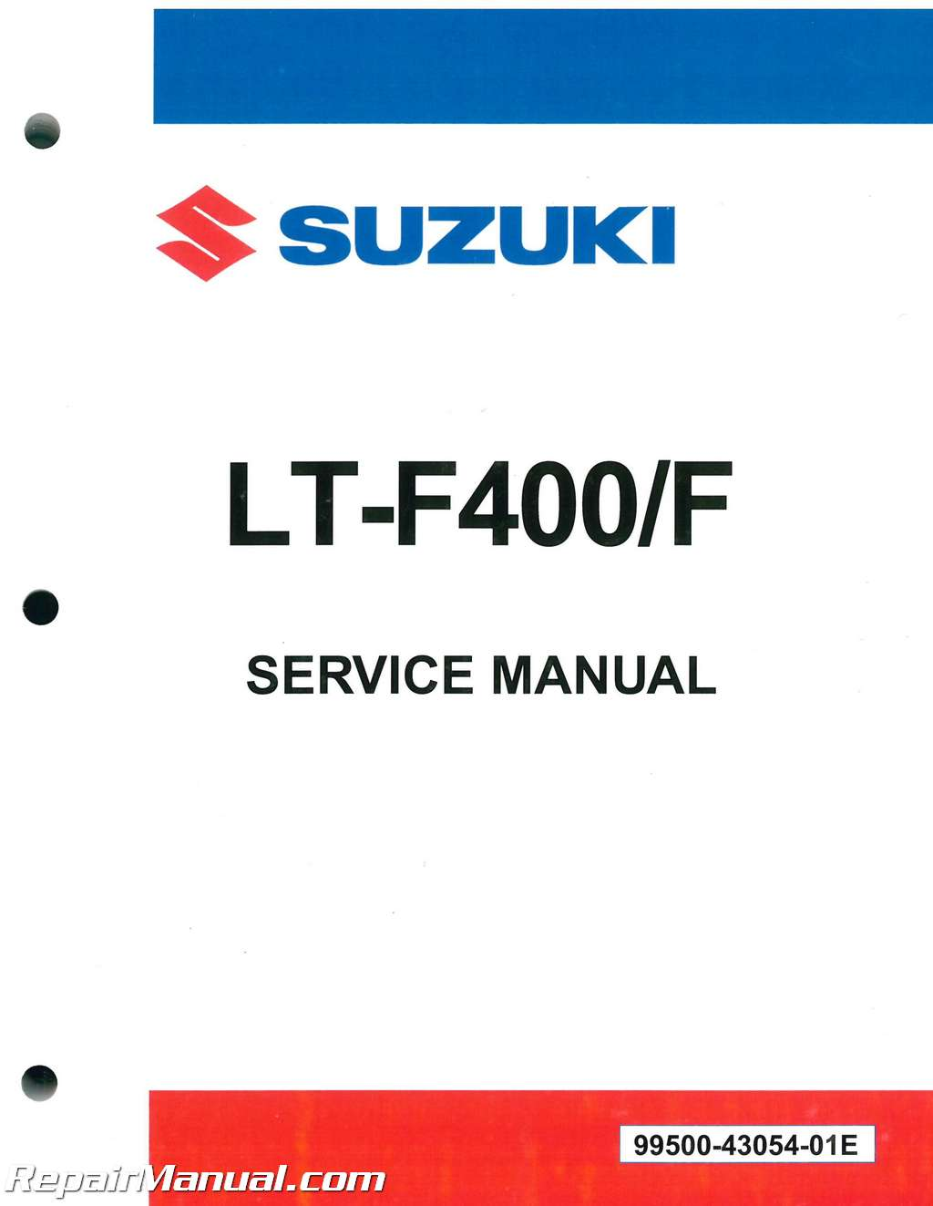 Suzuki Lt F Repair Manual