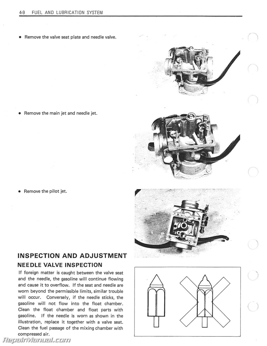 1983 1988 suzuki gn250 motorcycle service manual repair manuals suzuki gn250 manual page 5
