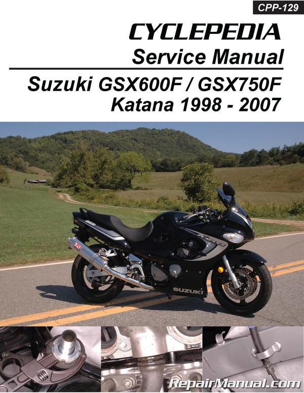 Suzuki Gsx600f Gsx750f Katana Cyclepedia Printed
