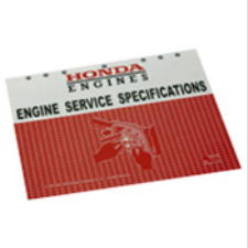 Official Honda Small Engine Service Specifications Guide