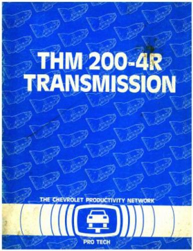 Chevrolet THM 200-4R Transmission Manual