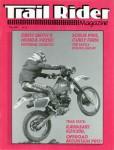 Trail Rider Magazine May 1987 Issue BW Reprint