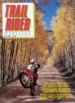 Trail Rider Magazine March 1993 Issue Black and White Copy