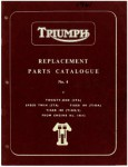 Triumph C Range Replacement Parts Manualue Number 4