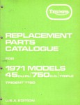 Used Triumph Replacement Parts for 1971 750cc Models