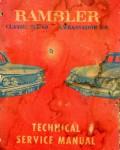 1961 AMC Rambler Classic Six-V8 and Ambassador V-8 Technical Service Manual