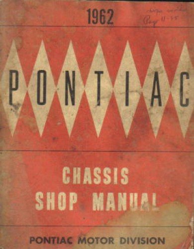 1962 Pontiac Factory Service Manual