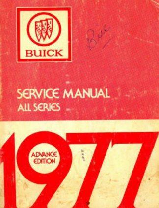 1977 Buick Service Manual 1977