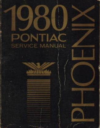 1980 Pontiac Phoenix Service Manual