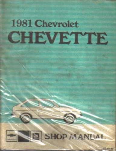 1981 chevrolet chevette service manual. Black Bedroom Furniture Sets. Home Design Ideas