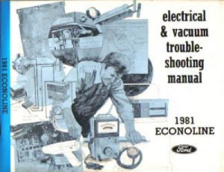 Used 1981 Ford Econoline Electrical Vacuum Troubleshooting Manual
