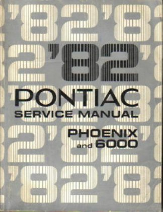 1982 Pontiac Phoenix Service Manual