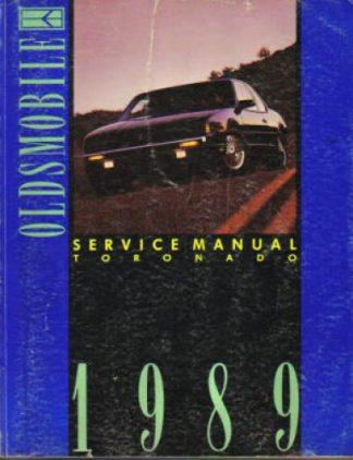 1989 Oldsmobile Toronado Service Manual
