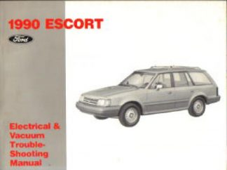 Used 1990 Ford Escort Electrical Vacuum Troubleshooting Manual