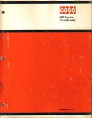 Case 970 Tractors Factory Parts Manual