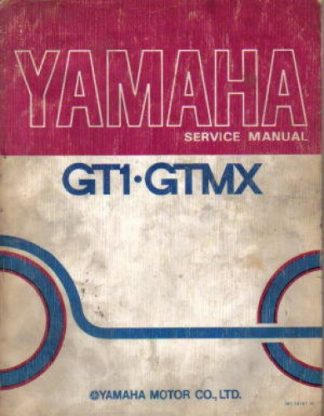 Used Official 1973-1974 Yamaha GT1 GTMX Factory Service Manual
