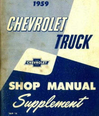 chevy truck manuals online