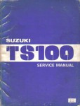 Used 1980-1981 Official Suzuki TS100 Factory Service Manual