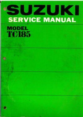 1976 Suzuki TC185A Ranger Motorcycle Service Manual