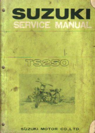 Official 1969-1970 Suzuki TS250 Savage Factory Service Manual