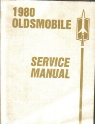 Used 1980 Oldsmobile Chassis Service Manual