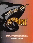 Used 1997 Arctic Cat BearCat 454 2x4 Factory Service Manual