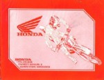 Used Official 1996 Honda CR500R Owners Manual Competition Handbook
