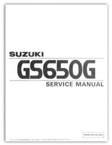 1981 1982 suzuki gs650g service manual rh repairmanual com suzuki gs 650 g service manual 1981 suzuki gs 650 service manual