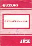 Used Suzuki 1991 JR50M Owners Manual