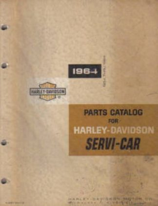Harley-Davidson 45 Servi-Car Parts Manual 1954-1964