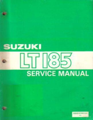 1984-1987 Suzuki LT185 Factory Service Manual